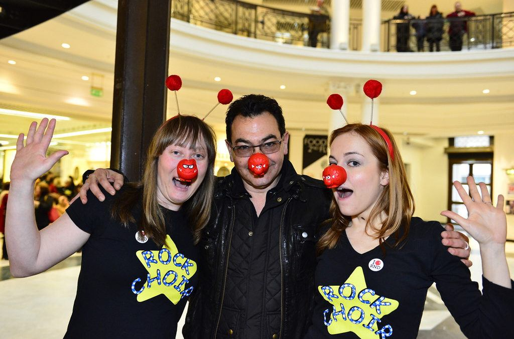 Rock Choir and Christina support Red Nose Day!